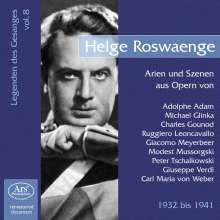 Legenden des Gesanges Vol.8 - Helge Rosvaenge, CD