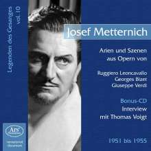 Legenden des Gesanges Vol.10 - Josef Metternich, CD