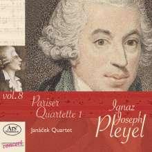 """Ignaz Pleyel (1757-1831): Streichquartette """"Pariser Quartette 1"""", CD"""