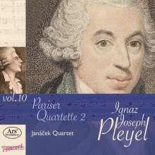 """Ignaz Pleyel (1757-1831): Streichquartette """"Pariser Quartette 2"""", CD"""