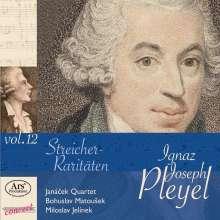 """Ignaz Pleyel (1757-1831): Kammermusik für Streicher """"Streicher-Raritäten"""", CD"""