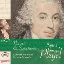 Ignaz Pleyel (1757-1831): Symphonien c-moll & B-Dur (B.142 & B.135), CD