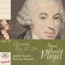 Ignaz Pleyel (1757-1831): Streichquintette in f, B, G (Ben 277, 278, 279), CD