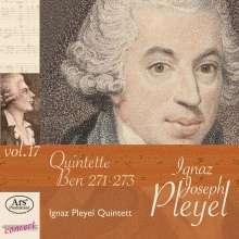Ignaz Pleyel (1757-1831): Streichquintette in C, Es, g (Ben 273, 271, 272), CD