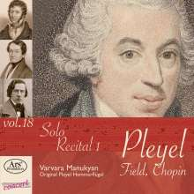 "Ignaz Pleyel (1757-1831): Klavierwerke ""Solo Recital 1!, CD"