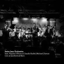 Swiss Jazz Orchestra: Live At Jazzfestival Bern, CD