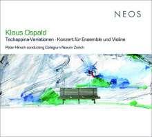 Klaus Ospald (geb. 1956): Konzert für Violine & Ensemble, CD