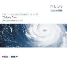 Wolfgang Rihm (geb. 1952): La musique creuse le ciel für 2 Klaviere & Orchester, CD