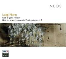Luigi Nono (1924-1990): Guai ai gelidi mostri, 2 SACDs