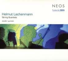 Helmut Lachenmann (geb. 1935): Streichquartette Nr.2 & 3, SACD