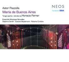 Astor Piazzolla (1921-1992): Maria de Buenos Aires, 2 SACDs