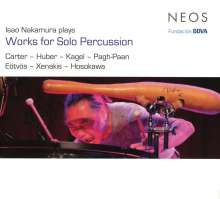 Isao Nakamura - Works for Solo Percussion, CD