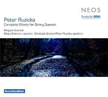 Peter Ruzicka (geb. 1948): Streichquartette Nr.1-6, 2 SACDs