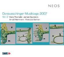 Donaueschinger Musiktage 2007 Vol.2, Super Audio CD