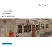 Kalevi Aho (geb. 1949): Klavierwerke, CD