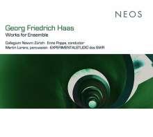 Georg Friedrich Haas (geb. 1953): Wer,wenn ich schriee,hörte mich...für Percussion & Ensemble, CD