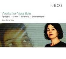Anna Spina - Werke für Viola solo, CD