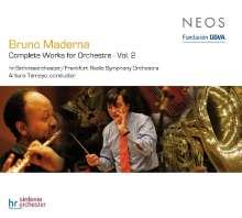 Bruno Maderna (1920-1973): Orchesterwerke Vol.2, SACD