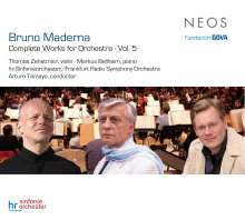 Bruno Maderna (1920-1973): Orchesterwerke Vol.5, SACD