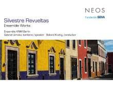 Silvestre Revueltas (1899-1940): Werke für Ensemble, CD