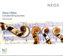 Alois Haba (1893-1973): Streichquartette Nr.1-16, 4 CDs