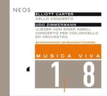 Elliott Carter (1908-2012): Cellokonzert (2001), SACD