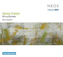 Georg Katzer (1935-2019): Streichquartettet Nr.1,3,4, Super Audio CD