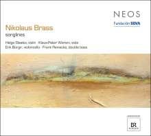 """Nikolaus Brass (geb. 1949): Kammermusik für Streicher """"Songlines"""", CD"""
