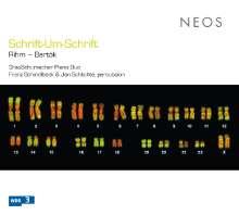Wolfgang Rihm (geb. 1952): Schrift-Um-Schrift für 2 Klaviere & 2 Schlagzeuger, Super Audio CD