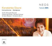 Konstantia Gourzi (geb. 1962): Conjunctions - Synapsies, CD