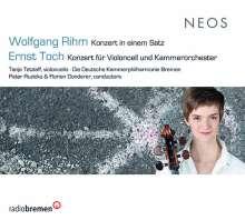 Wolfgang Rihm (geb. 1952): Cellokonzert in einem Satz, CD