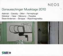 Donaueschinger Musiktage 2010, 4 Super Audio CDs