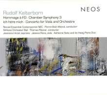 Rudolf Kelterborn (geb. 1931): Kammersymphonie Nr.3, CD