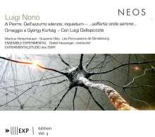 Luigi Nono (1924-1990): A Pierre - Dell'Azzurro silenzio,inquietum, SACD