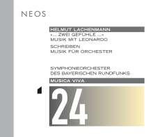 Helmut Lachenmann (geb. 1935): Schreiben - Musik für Orchester, SACD