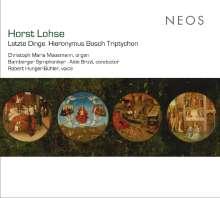 Horst Lohse (geb. 1943): Die vier letzten Dinge für Orgel & Orchester, SACD
