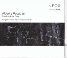 "Alberto Posadas (geb. 1967): Kammermusik ""Poetics of the Gaze"", CD"