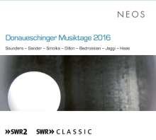 Donaueschinger Musiktage 2016, 2 SACDs