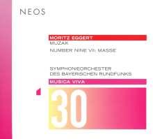 Moritz Eggert (geb. 1965): Muzak für Stimme & Orchester, Super Audio CD