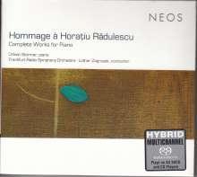 """Horatiu Radulescu (1942-2008): Sämtliche Klavierwerke """"Hommage a Horatiu Radulescu"""", 3 Super Audio CDs"""
