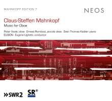 Claus-Steffen Mahnkopf (geb. 1962): Kammermusik mit Oboe, CD