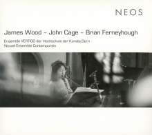 "James Wood (geb. 1953): Konzert für Percussion & 24 Instrumente ""Two men meet, each presuming the other to be from a distant planet"", CD"