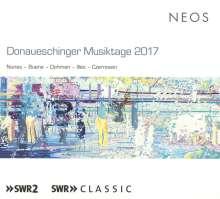 Donaueschinger Musiktage 2017, 2 SACDs