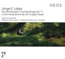 """Jorge Lopez (geb. 1955): Kammersymphonie Nr. 2 op.23 """"A vegsö Tavasz"""", CD"""