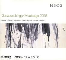 Donaueschinger Musiktage 2018, 2 SACDs