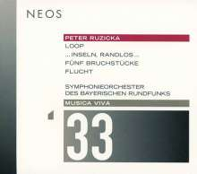 Peter Ruzicka (geb. 1948): ... Inseln, Randlos... für Violine, Kammerchor & Orchester, SACD