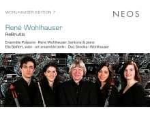 """Rene Wohlhauser (geb. 1954): Die große Vokaltrilogie """"Drei Gesänge"""", CD"""