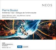 Pierre Boulez (1925-2016): Anthemes 1 & 2, Super Audio CD