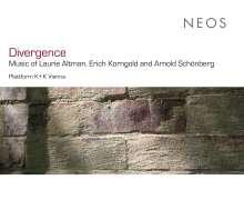 """Laurie Altman (geb. 1944): Kammermusik """"Divergence"""", CD"""