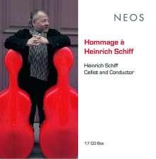 Hommage a Heinrich Schiff, 17 CDs